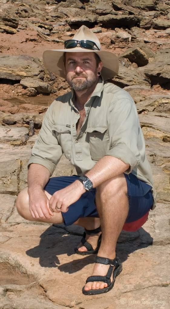 Queensland dinosaur expert Dr Steve Salisbury is a Senior Lecturer in the School of Biological Sciences at The University of Queensland.