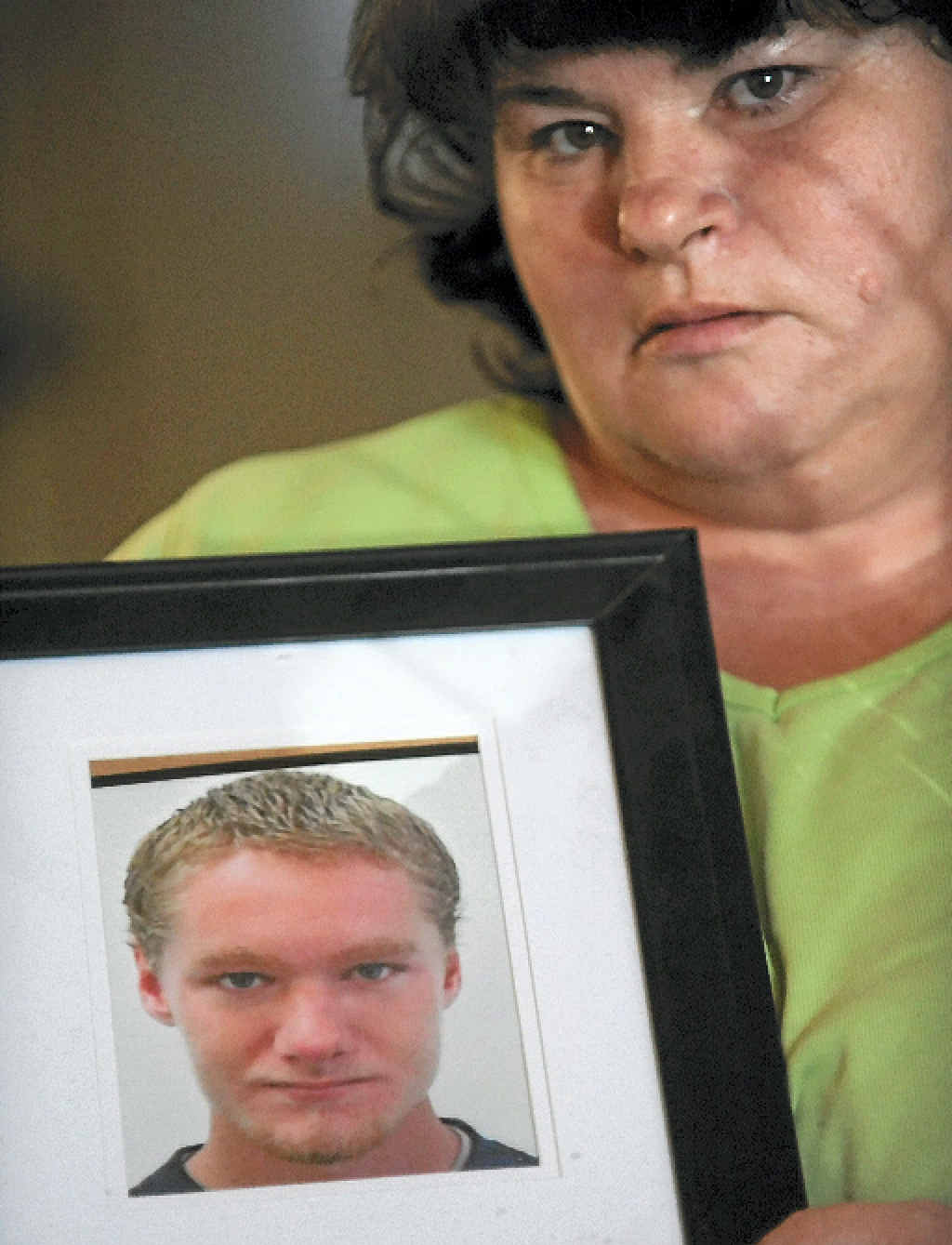 GRIEVING MOTHER: Helen Gordon says the prison system failed her son Leonard.