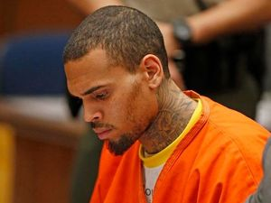 Chris Brown petrified of being target of gang hit