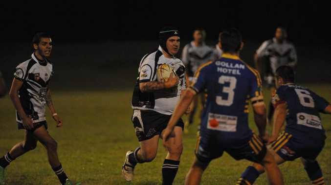 HEADS UP: Lower Clarence Magpies prop Steve Austine is confident his side can finish the season strongly.