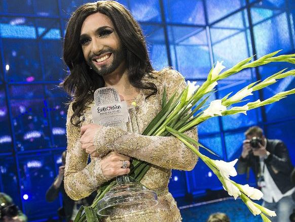 Finally, Australia is being asked to compete in the world's most flamboyant and excellent song contest. Austria won the 2014 contest with the song 'Rise Like a Phoenix' sung by bearded drag queen Conchita Wurst