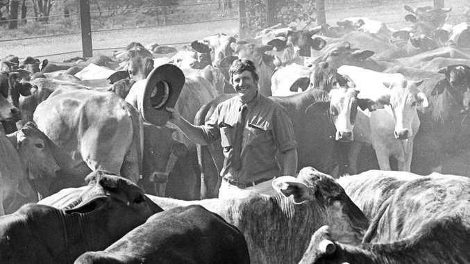 Cattleman Graeme Acton. Photo The Morning Bulletin Archives