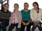 Skye Hughes, Layla Mills, Jade McQualter-Walsh, Victoria Dromgold, Jack Cole and Chloe Curtis.