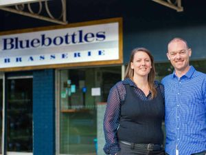 New owners but it's still the same old great breakfast option for Woolgoolga locals at Bluebottles Brasserie.