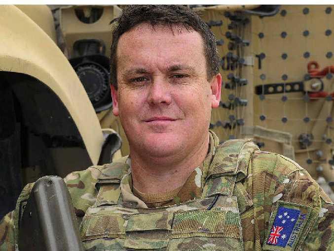 Captain Glenn Bourke, Second-in-Command for Australia's contribution to the logistics training advisory team based in Kabul, Afghanistan.