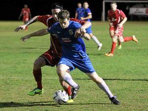 Football striker scores new gig after impressing in defence