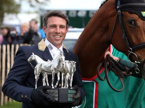 Sam Griffiths puts us on top with eventing win at Badminton