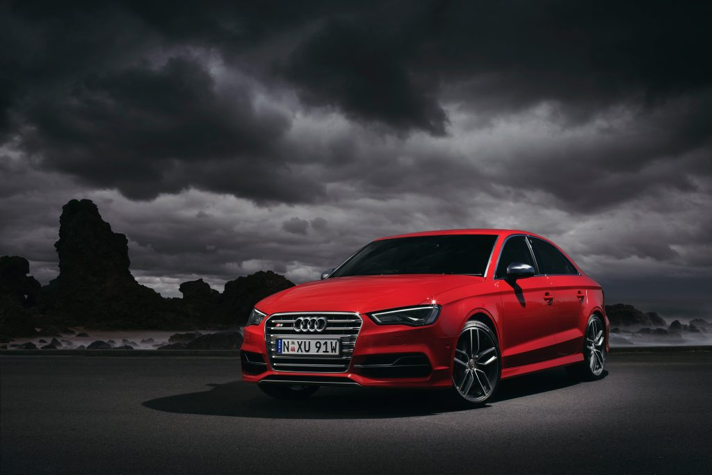 The Audi S3 Sedan.