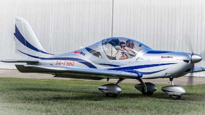 c629359bebc Cooran based couple Tim and Anita Holland experience the joy of flying  their own airplanes on