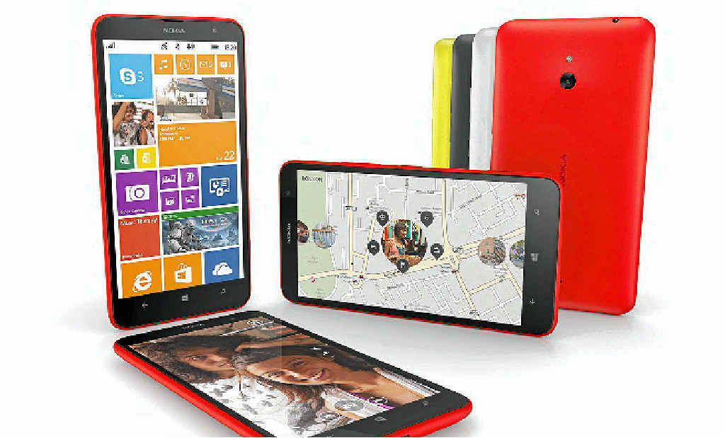 SLICK DEVICE: Nokia's Lumia 1320.