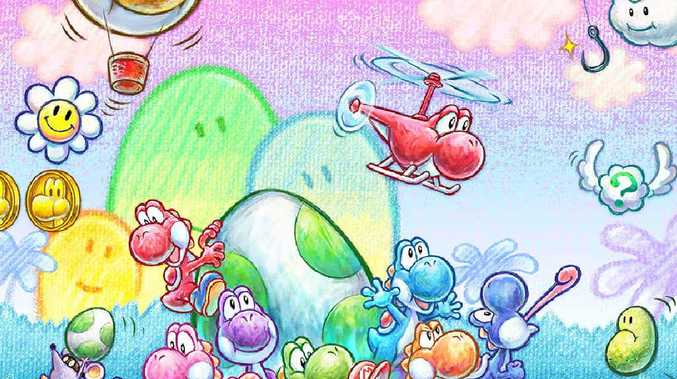 Yoshi's New Island lacks the 'wow' factor of earlier games.