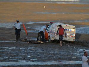 Good Samaritan comes to the aid of bogged Mackay police