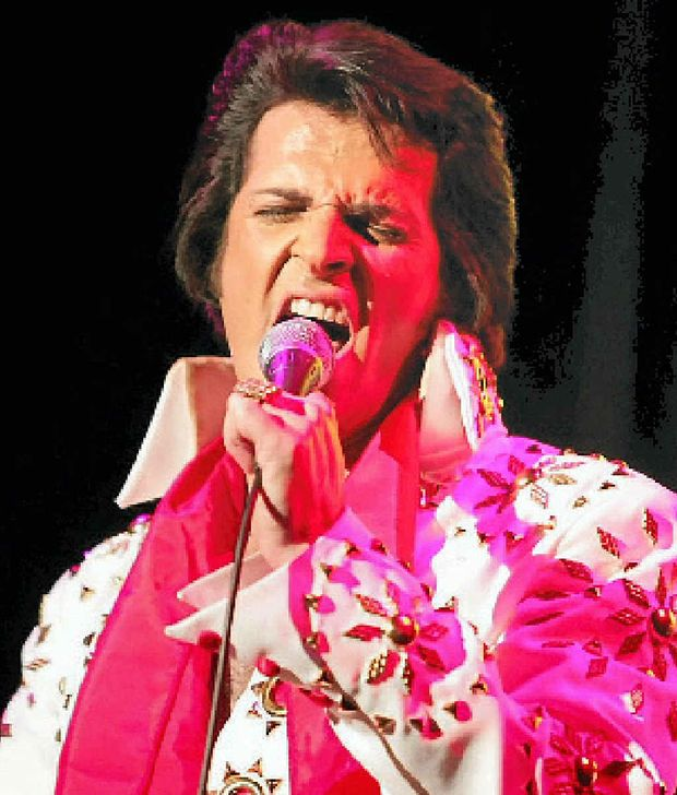 JAILHOUSE ROCK: Australian performer Mark Andrew is one of the Elvis acts at the four-day festival on Daydream Island from May 19-24.