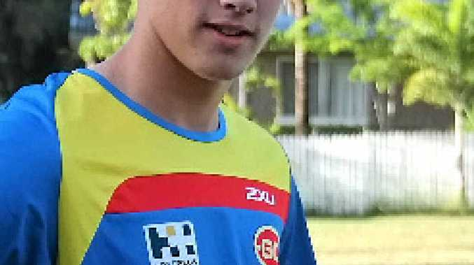 SEA EAGLES' GUN: Eli Gunders, 15, will represent North Queensland at the Under-16 Queensland State Academy Championships in Burpengary this week.