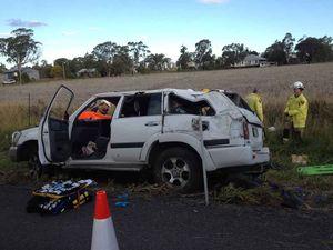 Millmerran woman critical after highway crash