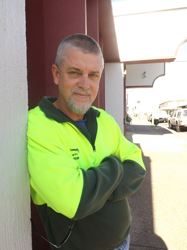 Ray Carter volunteers for the State Emergency Service, two rural fire brigades, the Coast Guard Sandy Straits and the Fraser Coast Community Group.
