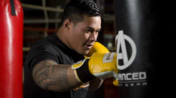 Toowoomba heavyweight Herman Ene-Purcell returns to the ring at Smith's Gym next month.