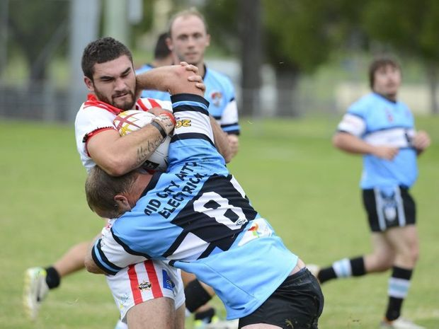 RUBBED OUT: South Grafton Rebel Jay Melrose was suspended for the rest of the season. Photo: Debrah Novak