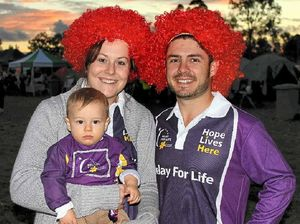 Relay teams push for cure