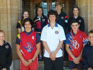 Students win spots in Downs school teams