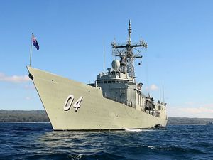 Australian Navy ship in 449kg heroin seizure off Somalia