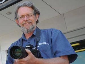 Fraser Coast Chronicle chief photographer Alistair Brightman.