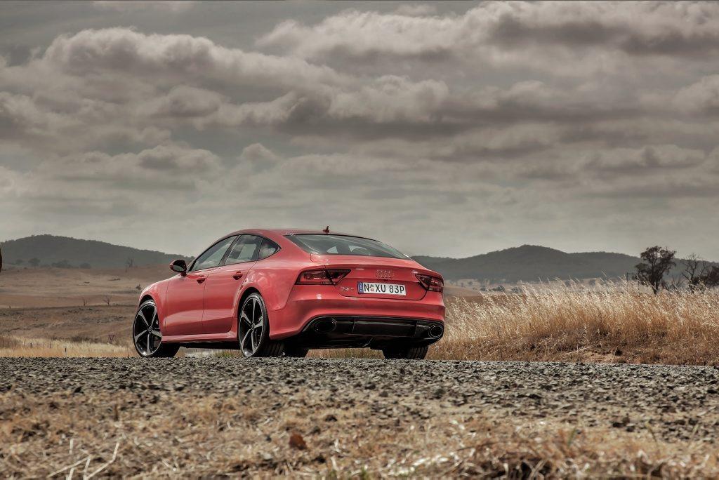 The Audi RS7 Sportback.
