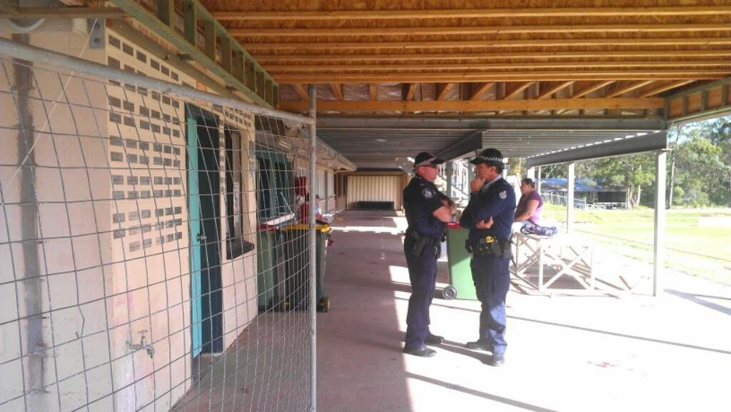Police investigating into a dog mauling at Maroochydore Junior Rugby League Club. Photo Kristy Muir / Sunshine Coast Daily