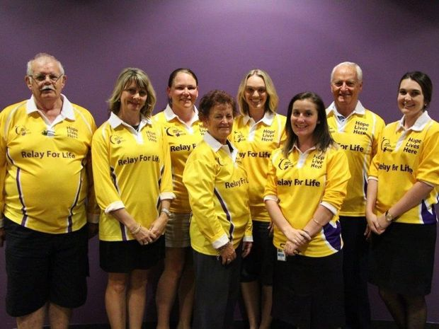 VOLUTNEERS: Gladstone Relay for Life event committee members.