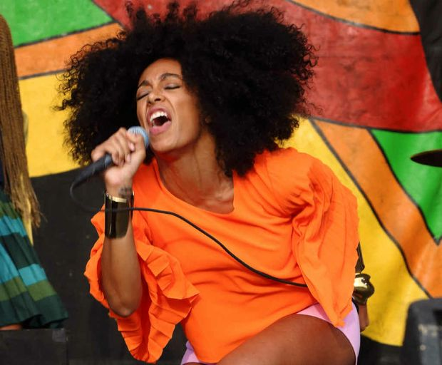 CAREER MOVE: Solange – after an attack on Jay Z, now we know who she is.