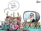 Harry Bruce's depiction of Australia's reaction on Budget night 2014