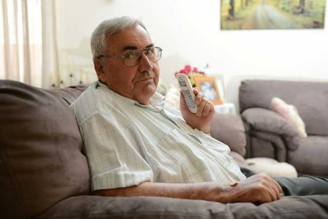 MONEY WORRIES: Neil Cubit foiled an attempt by a scammer trying to find out his bank details.