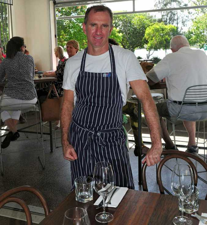 Chef David Rayner at his Thomas Corner Eatery.