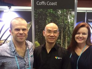 Marketing campaign brings Singapore visitors to Coffs Coast