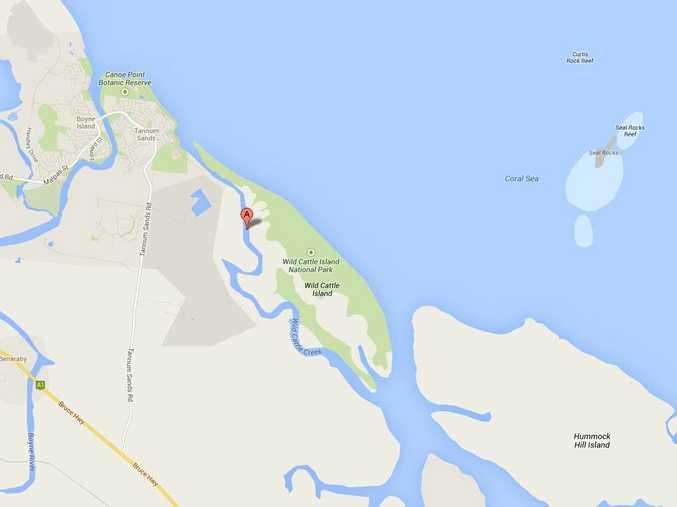 Map showing Wild Cattle Creek. Source: https://maps.google.com.au