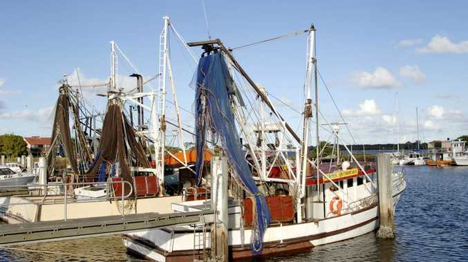 A file photo of the Ballina trawler harbour.