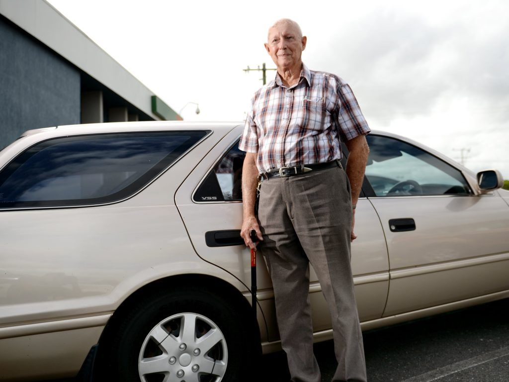 Arthur Prowse from Yeppoon is one of CQ's longest members of RACQ. Photo Allan Reinikka / The Morning Bulletin