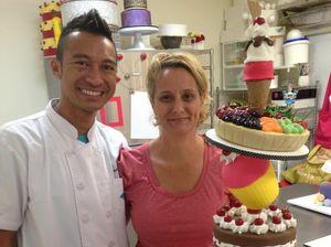Toowoomba masterchef's cakes defy gravity