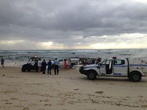 Boat capsizes at Lennox Head