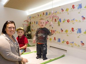 Shopping centre boasts state-of-the-art parents' room