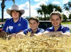 COMMUNITY SPIRIT: Junior Show Committee members (from left) Teramine Olive, Mitchell Colin and Courtney Paton.