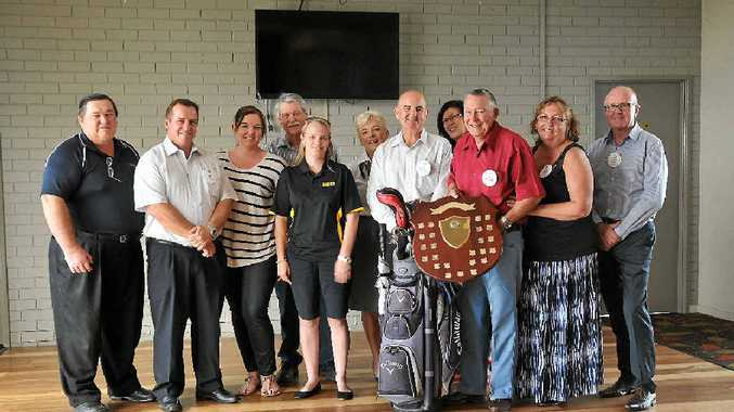 GAME ON: Members of the Gladstone Midday Rotary Club are getting ready for the 37th Annual Motor Traders Golf Day.