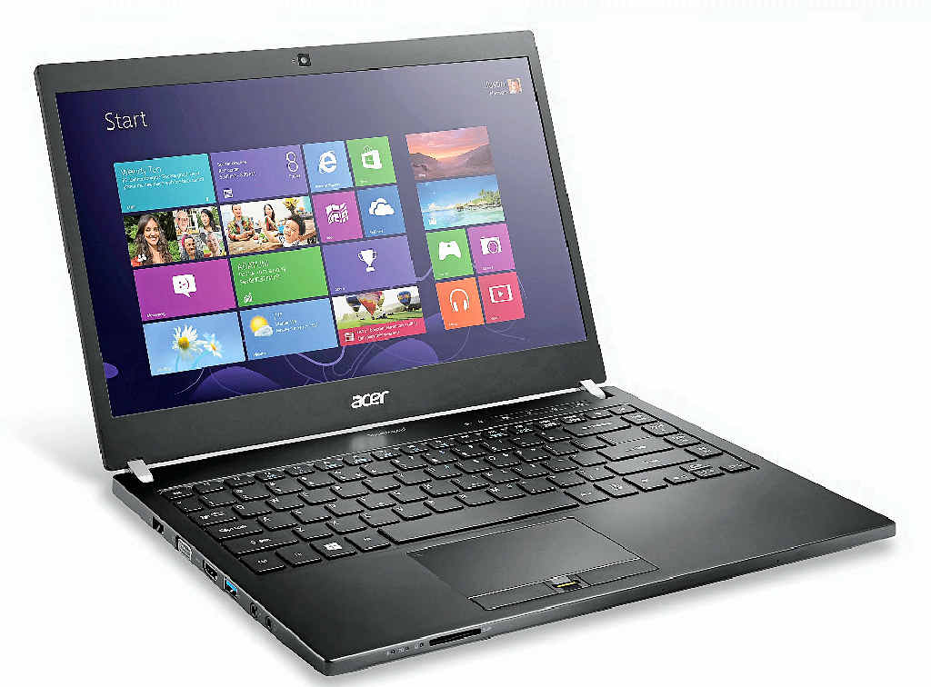 KEEP IT SIMPLE: The Acer Travelmate P645 is a fuss-free workhorse.
