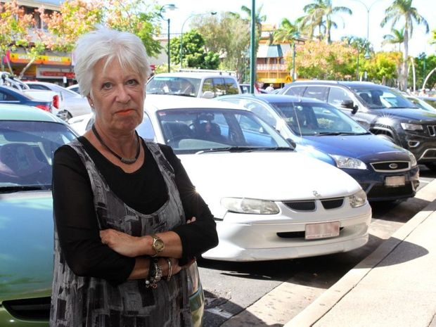 PARK FRUSTRATION: Zetta Boutique employee Jo Rogers is unhappy with the current lack of parking in the Bundaberg CBD. Photo: Zach Hogg / NewsMail