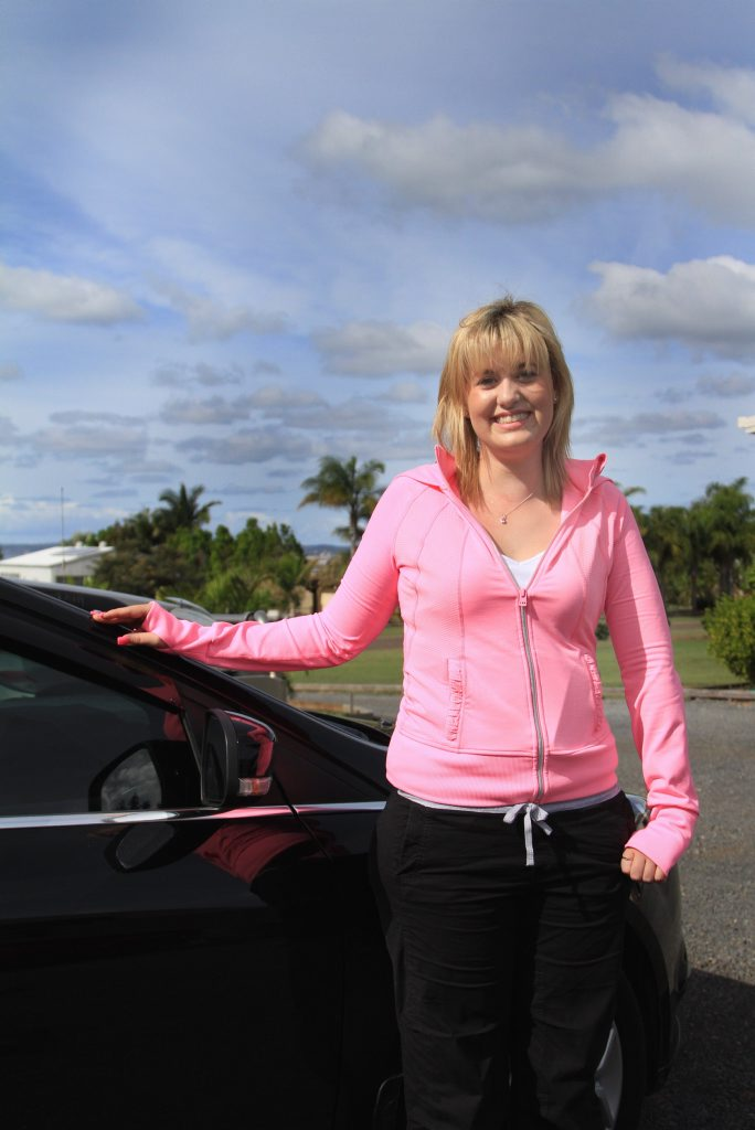Jade Scrim has told her story in a bid to remind other drivers how quickly their lives can change through a momentary lapse of attention.