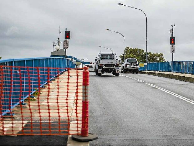 STRUCTURAL UPGRADE: Gladstone's Marina Bridge is expected to reopen after improvement work.