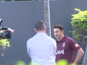Behind the scenes at 2014 Maroons launch