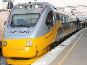 Free Wi-Fi on new look tilt train in Wide Bay