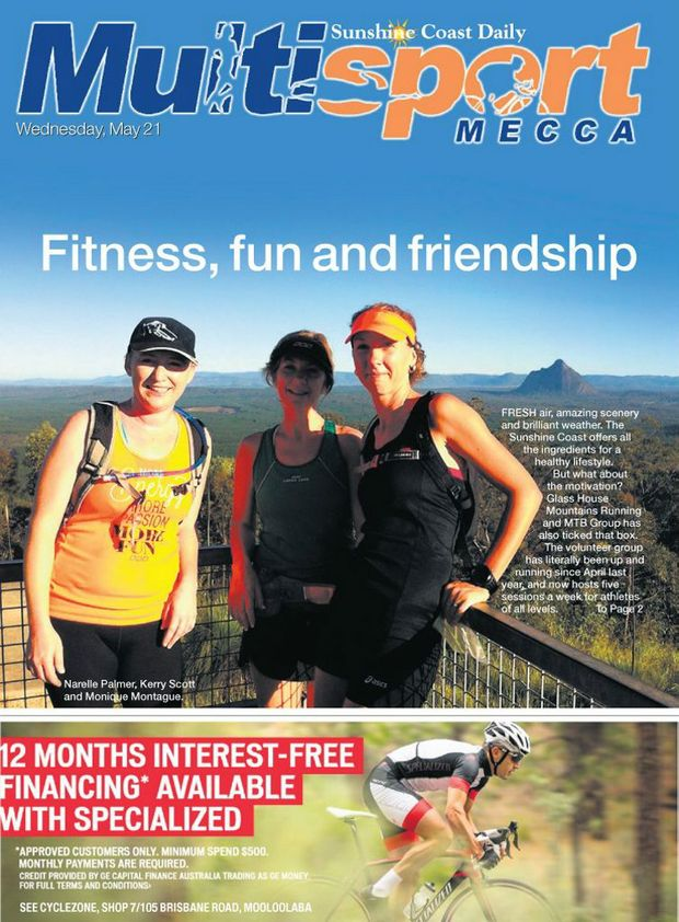 The May 21 edition of Sunshine Coast Multisport Mecca is out now.