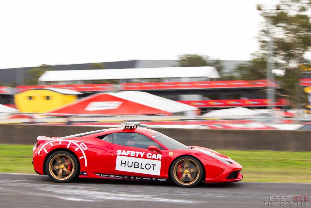 The 2014 Ferrari 458 Speciale.